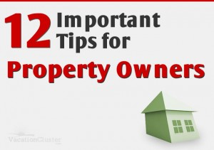 Booking tips for property owners