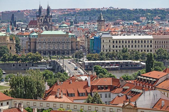 Visit Prague in August