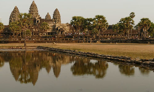 Angkor is the ancient city of Cambodia. You can indulge in various activities such as trekking and hiking through the tropical rain forests and also you can immerse yourself in local culture and cuisine.