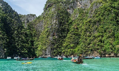 Phuket is a happening place in Thailand, you can party hard, you can also enjoy amazing water sports activities and also you will find awesome restaurants for high-end dining.