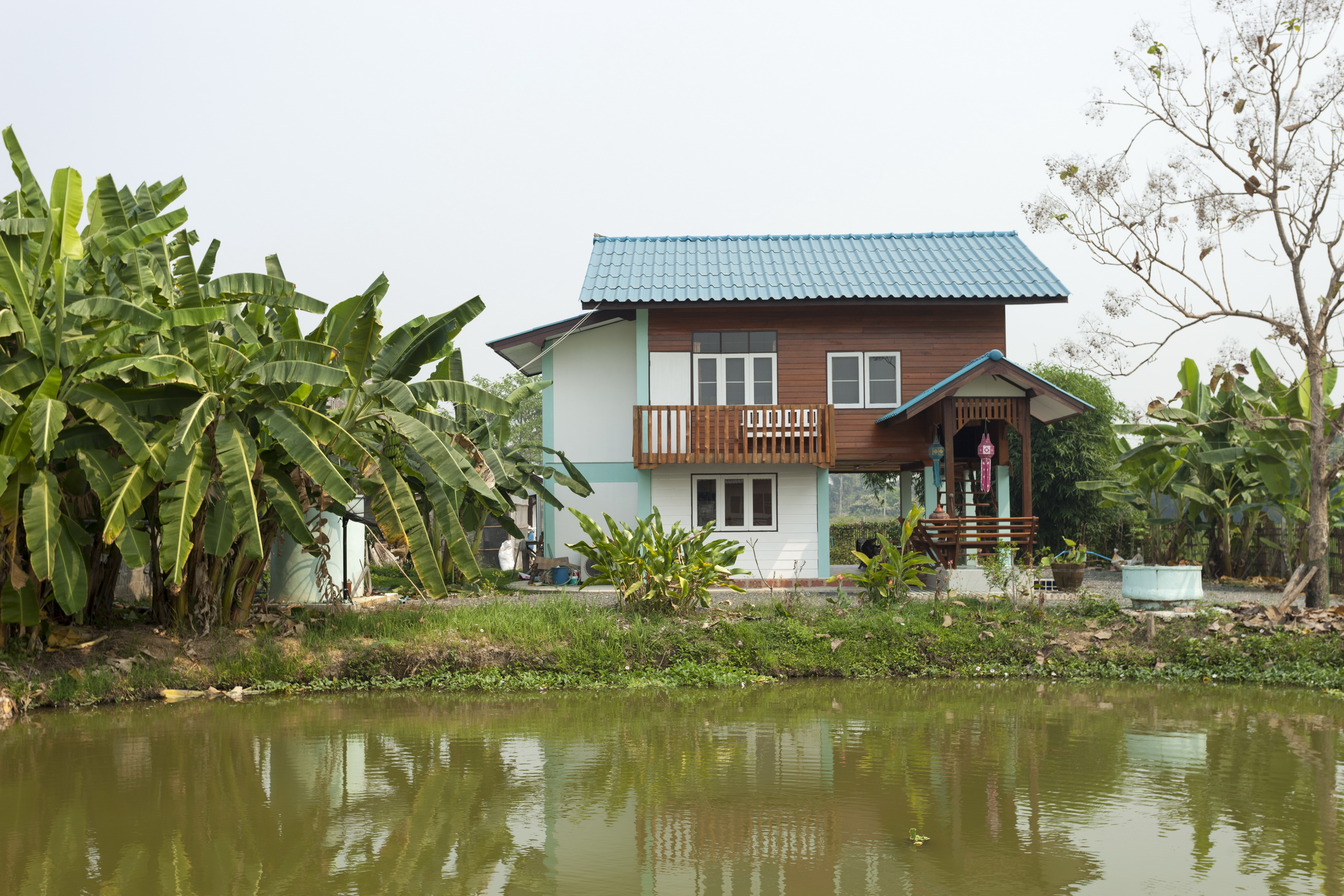 Lha's Place Traditional Thai Teakwood house near Chiang Mai Tailand