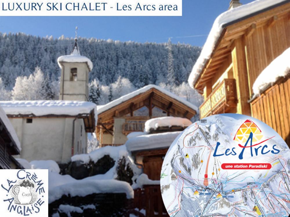 Chalet Les Arcs France:: Luxury Ski Chalet