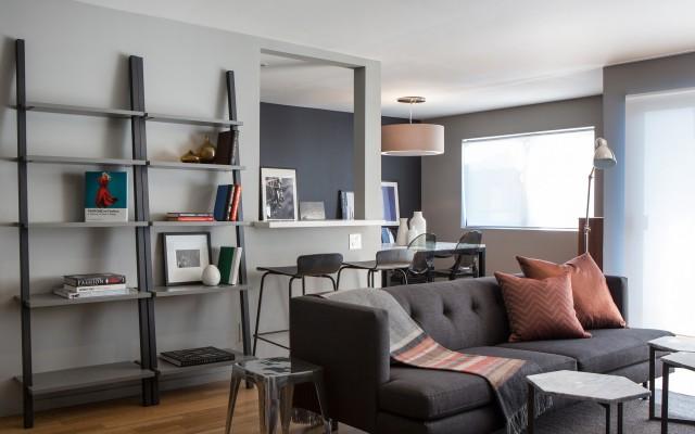 Family-friendly hi-rise condo