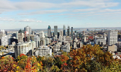 Montreal is the cultural capital of Canada and it is also a happening city