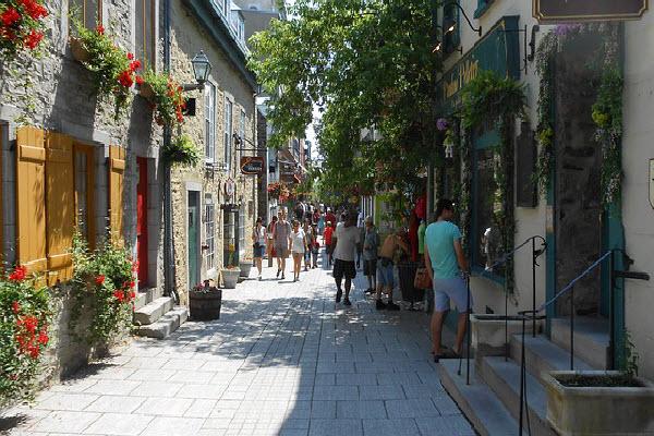 Beautiful Quebec City in Canada