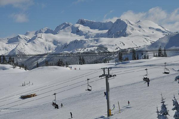 Ski Whistler Blackcomb, Canada