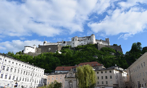 Salzburg is a perfect place to have a great vacation time with family.