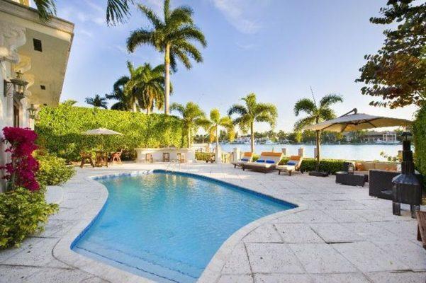 Paradise beach home
