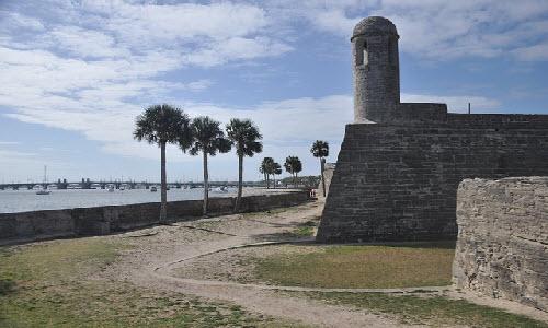 Castillo de San Marcos in Florida