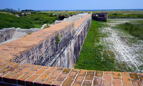 Fort Pickens in Florida