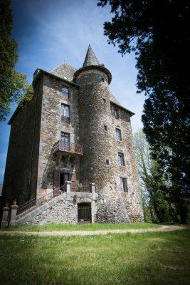 Chateau de cologne en auvergne france