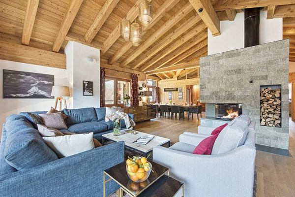 Traditional chalet style, modern luxury and stunning