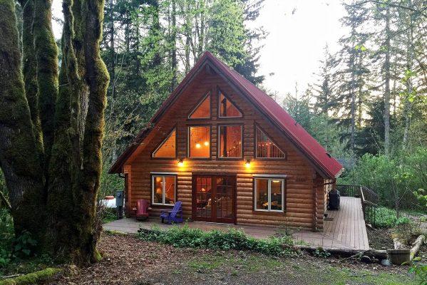 Mt. baker lodging - glacier springs cabin #21gs - log cabin - pets ok - sleeps 6