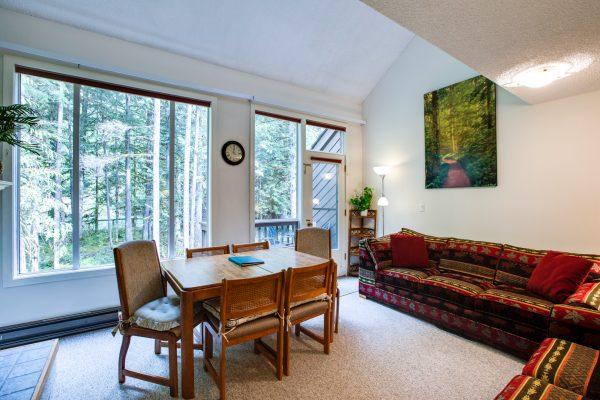 Mt. baker lodging - snowater condo #38sw - wifi - fireplace - dishwasher - w/d - sleeps 6